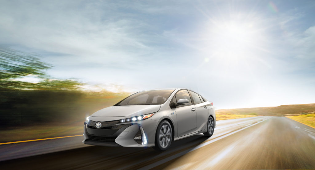 Toyota's 2017 Prius Prime gets more range, improved driving dynamics and a nose job.