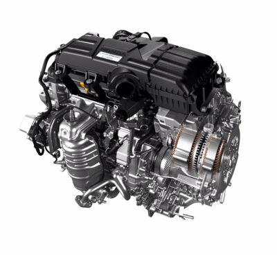 Honda hybrid system
