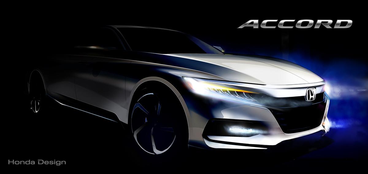 2018 Honda Accord Concept Sketch - The Green Car Guy