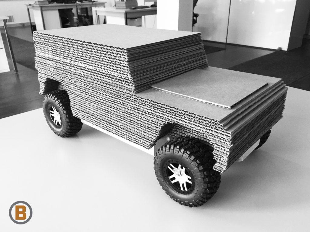 Bollinger Electric Truck Model