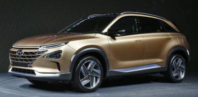 Fuel Cell SUV in Hyundai Green Car Plan