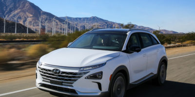 Hyundai Nexo Fuel Cell Crossover Unveiled
