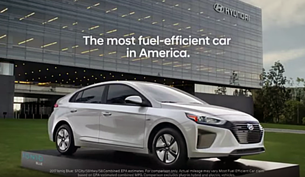 About That Hyundai Ioniq Commercial... - The Green Car Guy