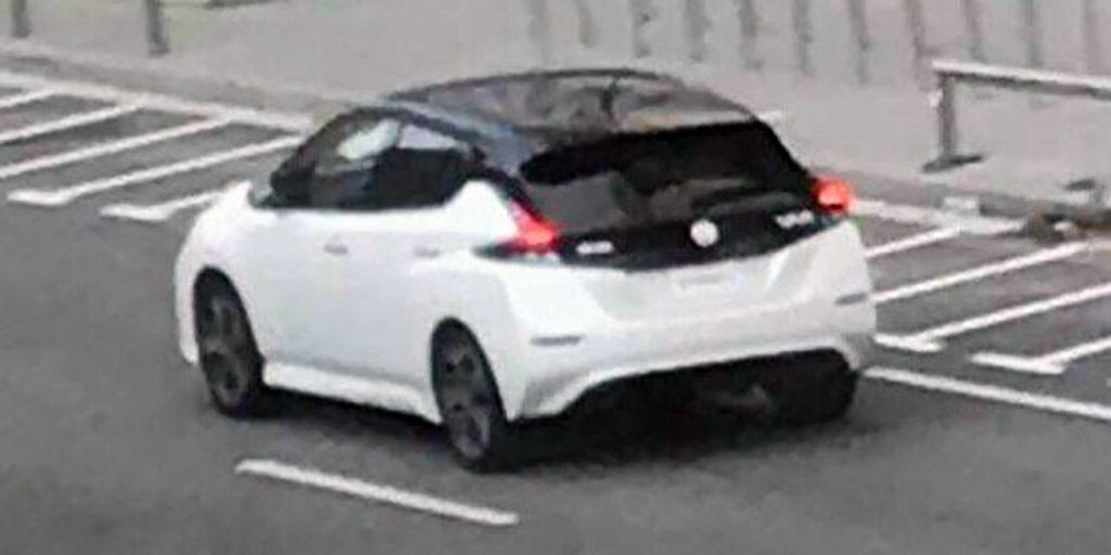2018 Nissan Leaf Spy Shot