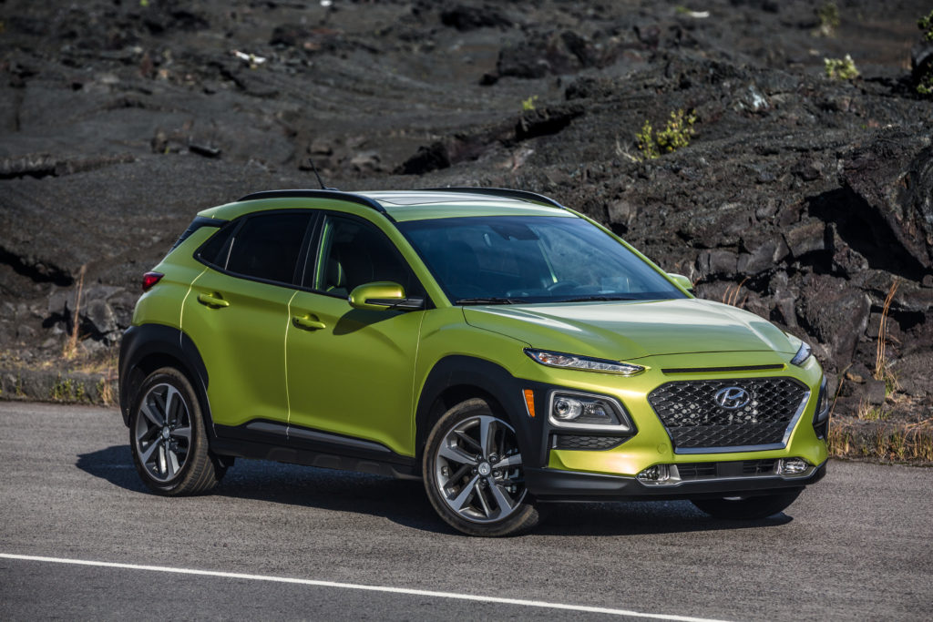 hyundai kona ev debuts at geneva show the green car guy. Black Bedroom Furniture Sets. Home Design Ideas