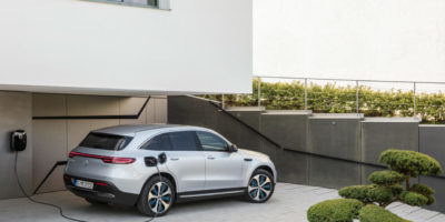 Mercedes-Benz Unveils EQC Electric Crossover