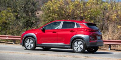 Hyundai Kona Electric EV: 258 miles