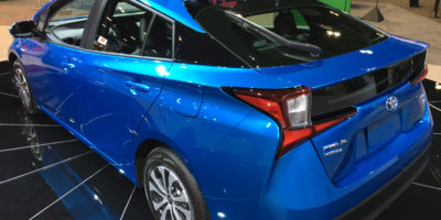 2019 Prius Shakes (Up) Its Rear