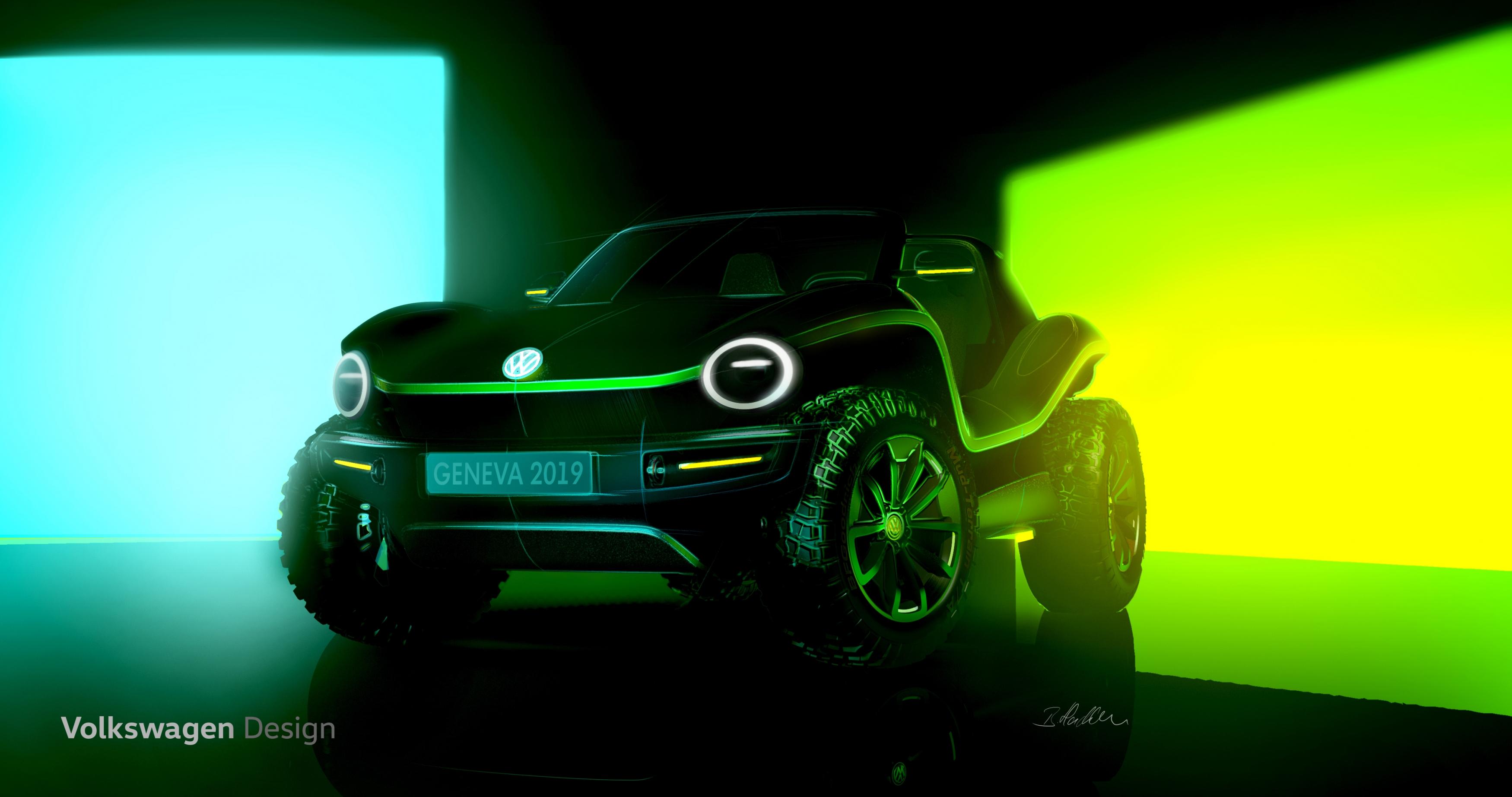 Electric VW Dune Buggy