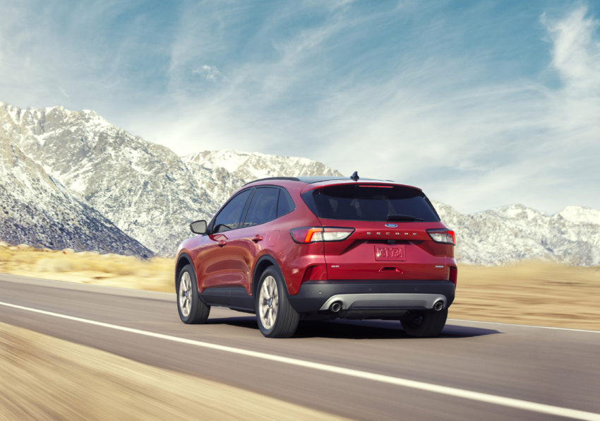 2020 Ford Escape Offers Two Hybrids The Green Car Guy
