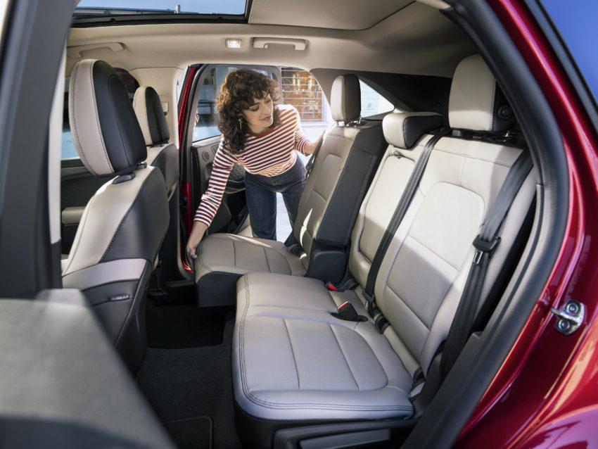 2020 Escape Hybrid has versatile rear seating.