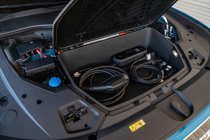 Audi e-t\Tron frunk