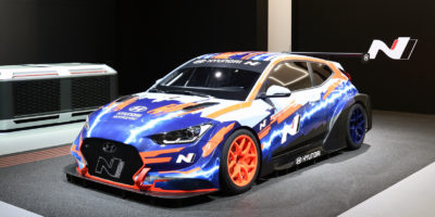 Hyundai Racing Goes Electric with Veloster N ETCR
