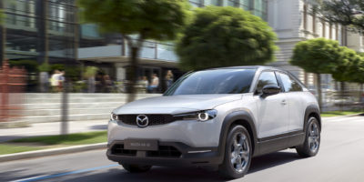 Mazda EV Designed for Enviro Impact, Not Range