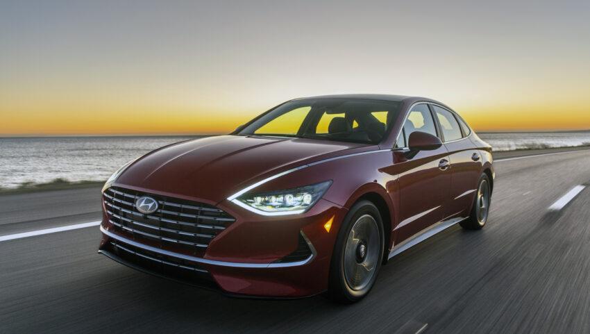 Sonata Hybrid pricing starts at under $29,000.