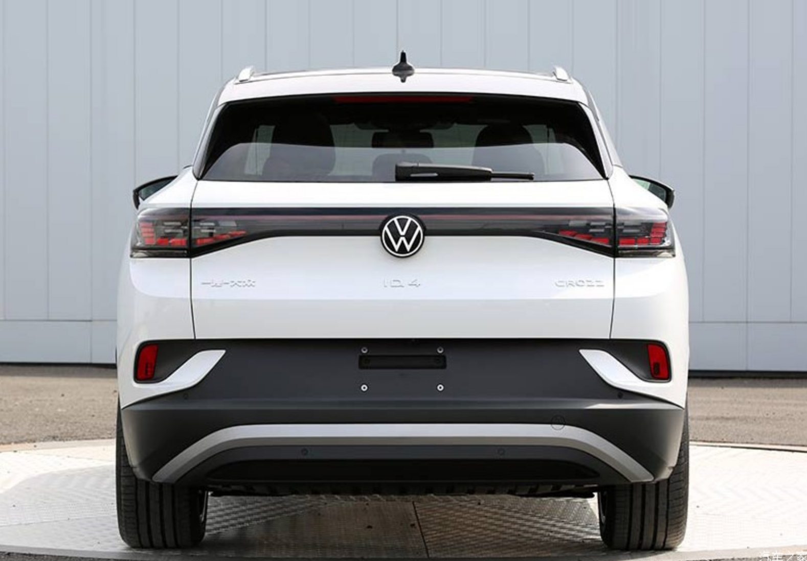 VW's ID.4 crossover.
