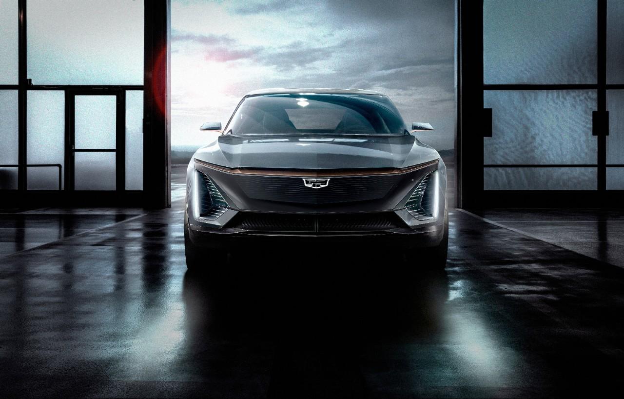 Cadillac Lyriq front view