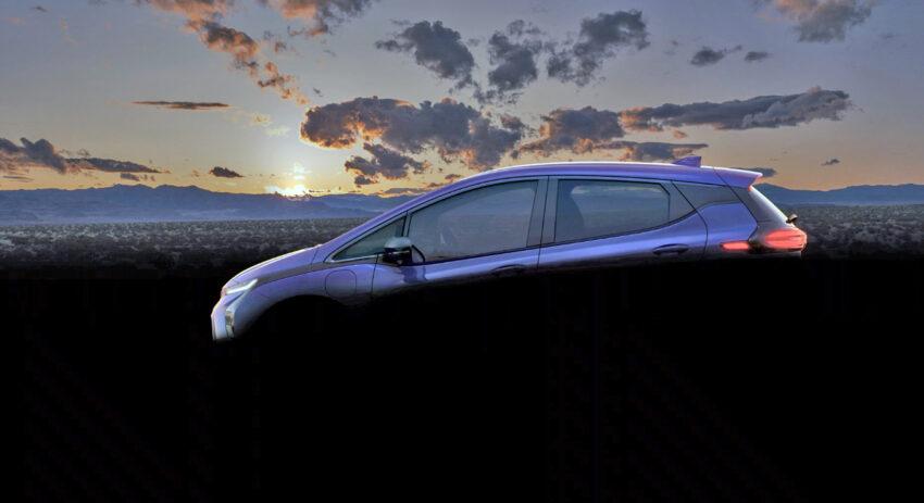 2022 Bolt hatchback in profile.