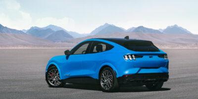 Mustang Mach-E GT Gets Improved EPA Range Ratings